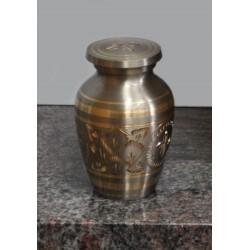 Urne souvenir de couleur bronze